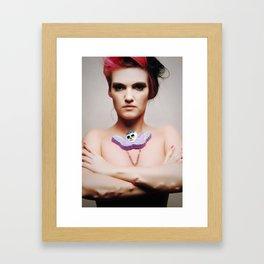 SKULL 'N' BONES Framed Art Print