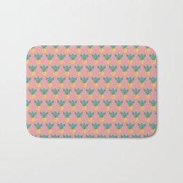 Pink Pineapple Bath Mat