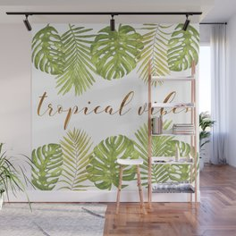 Tropical Vibes - Palms Wall Mural