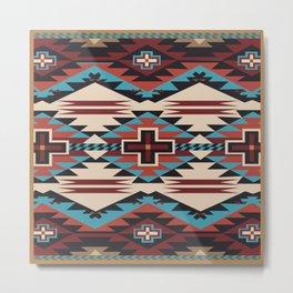 American Native Pattern No. 67 Metal Print