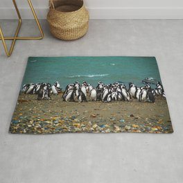 Otway Sound Penguin Colony - Chile Rug