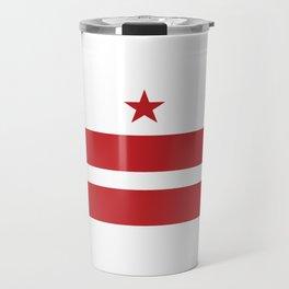 Washington, D.C. Flag Travel Mug
