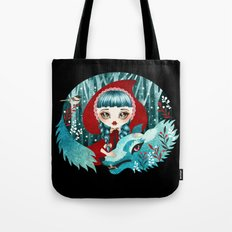 Red of the Woods Tote Bag