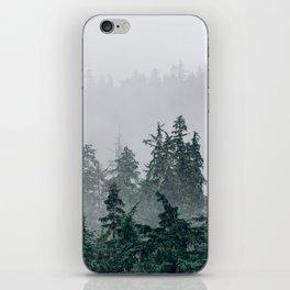 The Faded Fog iPhone Skin