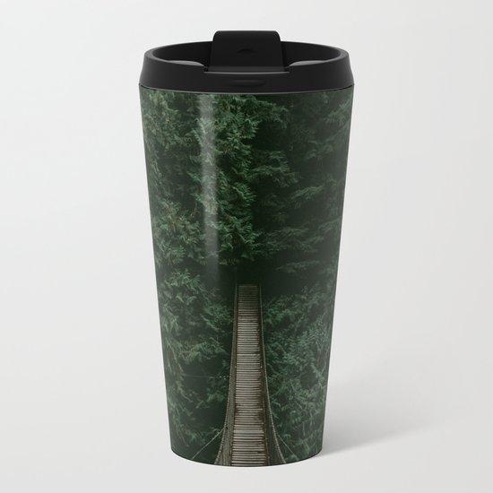 Into the Wilderness Metal Travel Mug