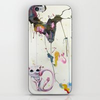 mew iPhone & iPod Skins featuring Mew by Shannon Gordy