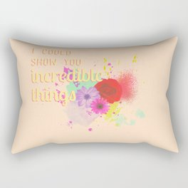 INCREDIBLE THINGS Rectangular Pillow