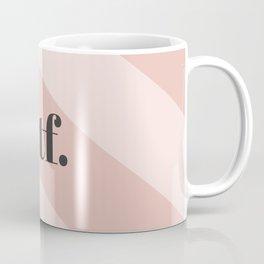 WTF Chevron Coffee Mug