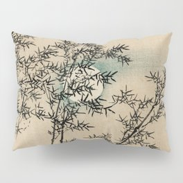 Bamboo Branches Traditional Japanese Flora Pillow Sham