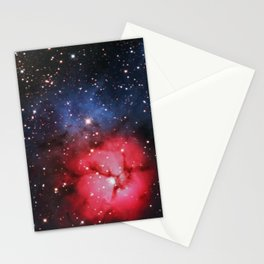 Messier 20 - The Trifid Nebula Stationery Cards