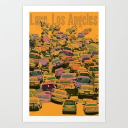 Love, Los Angeles Art Print