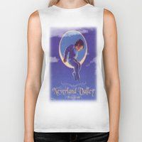 neverland Biker Tanks featuring Don't sell Neverland by Brooke Shane