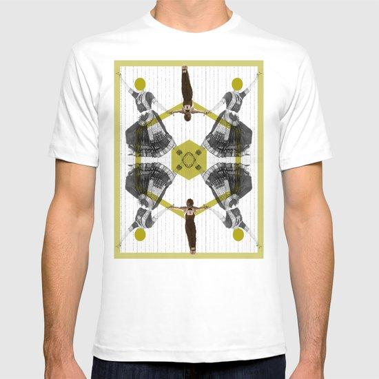 Bollywood geometrical gym T-shirt