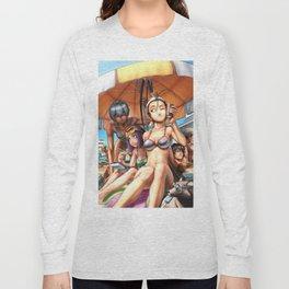 Ibuki Bikini Anime Long Sleeve T-shirt
