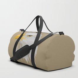 Bald Eagle Illustration Duffle Bag