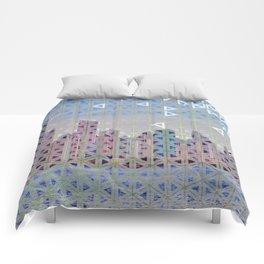 Triangled Skyline Comforters