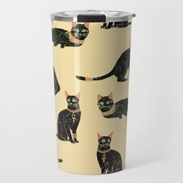 Egyptian Cat Travel Mug