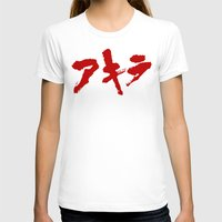 akira T-shirts featuring Akira Grafitti by InvaderDig