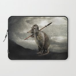 Armadillo by Eric Fan & Viviana González Laptop Sleeve
