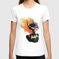 batgirl T-shirts featuring Batgirl by Станислава Коробкова
