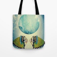 Planet Uranus Tote Bag