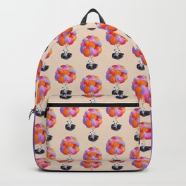 Panda flying with balloons Backpack