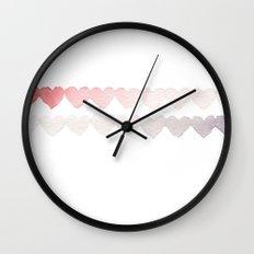 Heartbeats Wall Clock