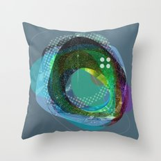 the abstract dream 10 Throw Pillow