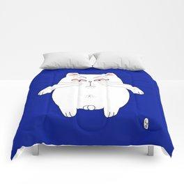 big cat 6 Comforters