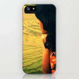 Lookin' Back iPhone Case