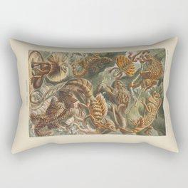 Vintage Lizards Rectangular Pillow