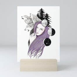 Three Moons Mini Art Print