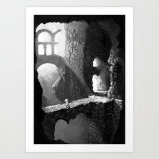 Delve Art Print