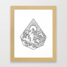 Higher Place Framed Art Print