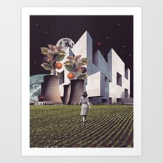 Living in the Future Art Print