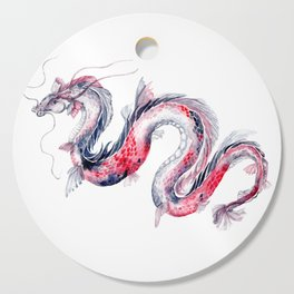 Koi Dragon Cutting Board