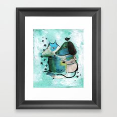 Bartukas friend Framed Art Print