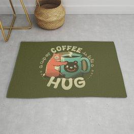 A Cup Of Coffee Is Like A Hug Rug
