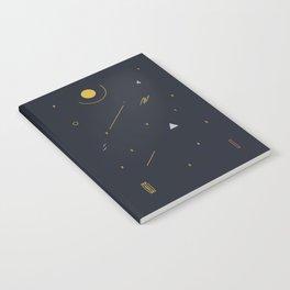 minimalist black #4 Notebook