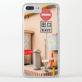 Chu Kou Clear iPhone Case