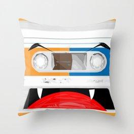 The cassette tape Vampire Throw Pillow