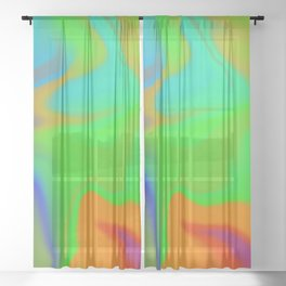 Hurricane Glow Sheer Curtain