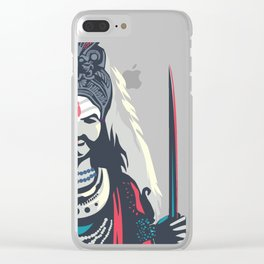 The king of Kings Version 2.0 Clear iPhone Case
