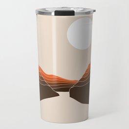 Desert Dusk Ravine Travel Mug