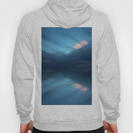 Blue Sky Abstract Hoody