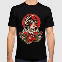Traditional Nurse Tattoo T-shirt
