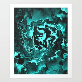 The King Of The Abyss Art Print