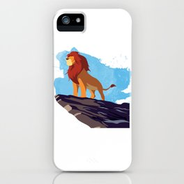 The Lion King Minimalist iPhone Case