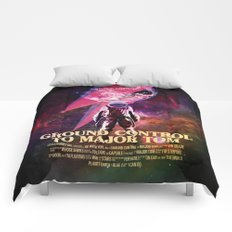 Space Oddity Comforters