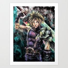 Hero of the Lifestream Art Print